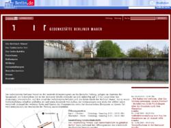 Dokumentationszentrum Berliner Mauer