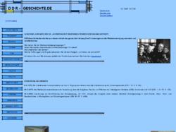 DDR Geschichte