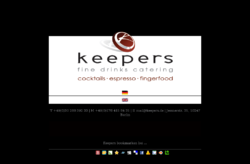 Barkeeper mieten - Keepers Catering