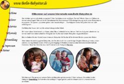 Babysitter und Kinderbetreuung aus Berlin