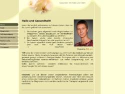 Katja Frank - Geistiges Heilen, Energiearbeit, Entspannung - Reiki, Besprechen, Geistige Wirbelsäulenbegradigung, Angel Touch