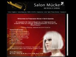 Friseursalon Mücke Ihr Spezialist für Haarverlängerung und Haarverdichtung in Berlin Spandau am Brünsbüttelerdamm. Wir schneiden mit der Heißen Schere