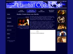 Flambal Olek - Feuershow Berlin
