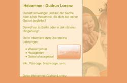 Hebamme Gudrun Lorenz