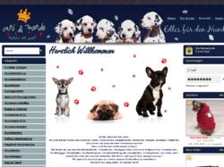 Cani di mondo-Edle Hundeaccessoires für Hunde von Welt