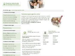 Informationen und Vergleiche zu Versicherungen