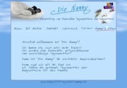 Babysitteragentur Die Nanny