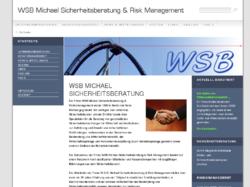 WSB Michael Unternehmensberatung Sicherheitsmanagement