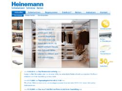 Heinemann - Schiebetüren, Schränke, Betten